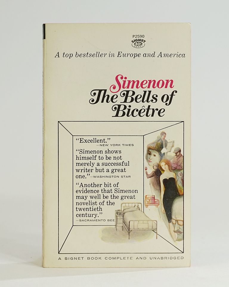 The Bells of Bicetre. Georges Simenon.