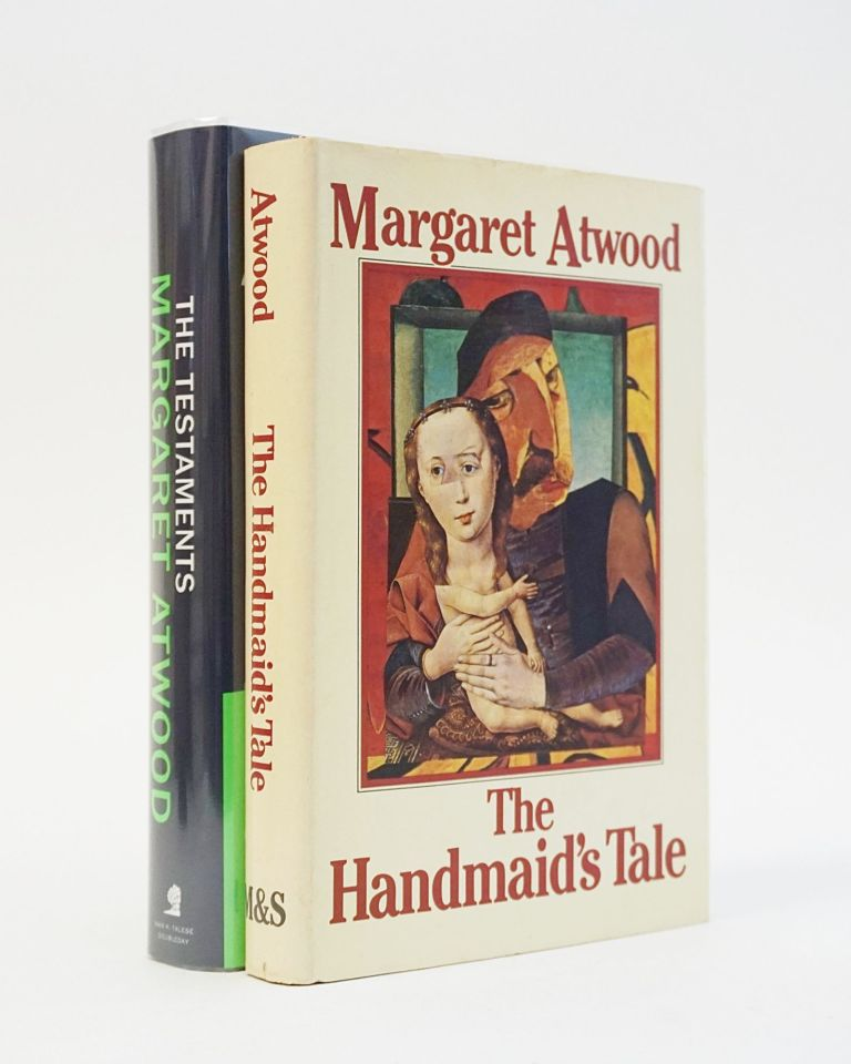 The Handmaid's Tale [WITH] The Testaments. Both Signed. Margaret Atwood.