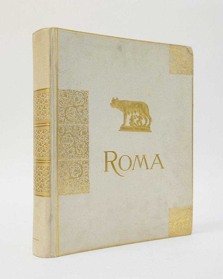 Roma. Ricordo di Roma. Photograph Album of Roman Antiquities. E. Andersen, Anderson.