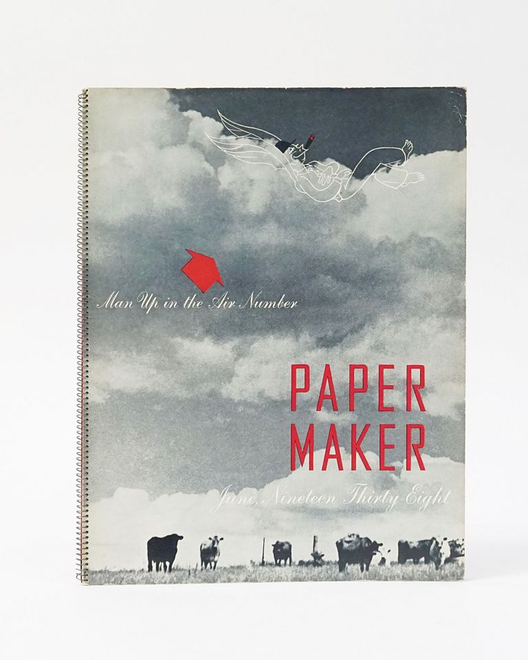 The Paper Maker, June, Nineteen Thirty-Eight: Man Up in the Air & the Summer Number. Hercules Powder Company.