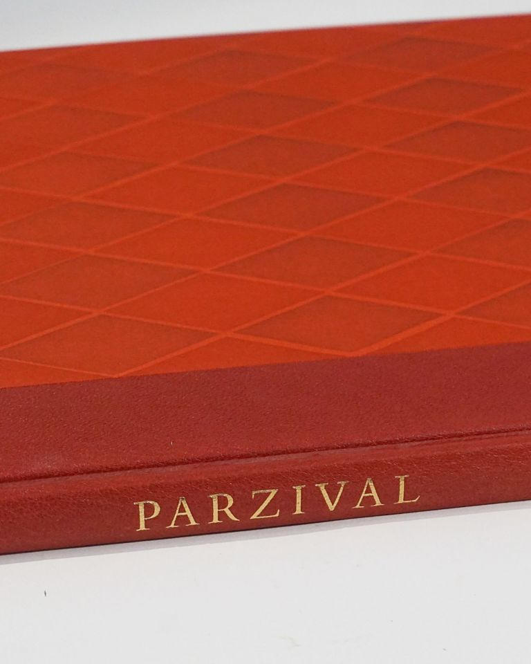 The Romance of Parzival and The Holy Grail, Retold by Carl Lofmark. With wood engravings by Stefan Mrozewski. Wolfram von Eschenbach.