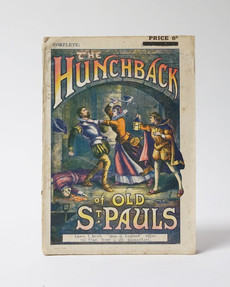 The Hunchback of Old St. Paul's; or, a Romance of Mystery. Complete. Beautifully Illustrated. Robert Justin Lambe.