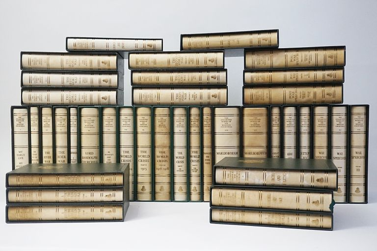 The Collected Works of Sir Winston Churchill. Centenary Limited Edition (38 Volumes). WINSTON S. CHURCHILL.
