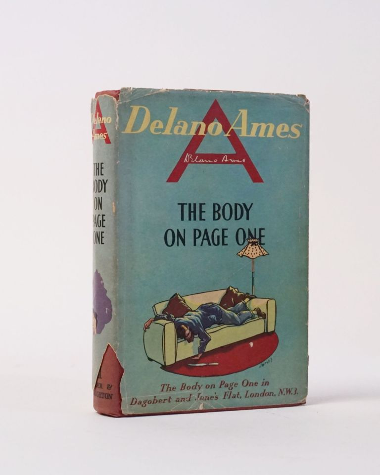 The Body on Page One. Delano Ames.