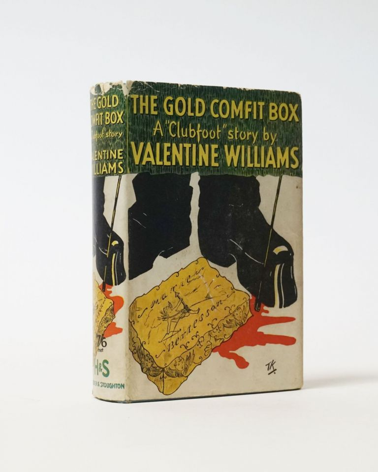 The Gold Comfit Box. Valentine Williams.