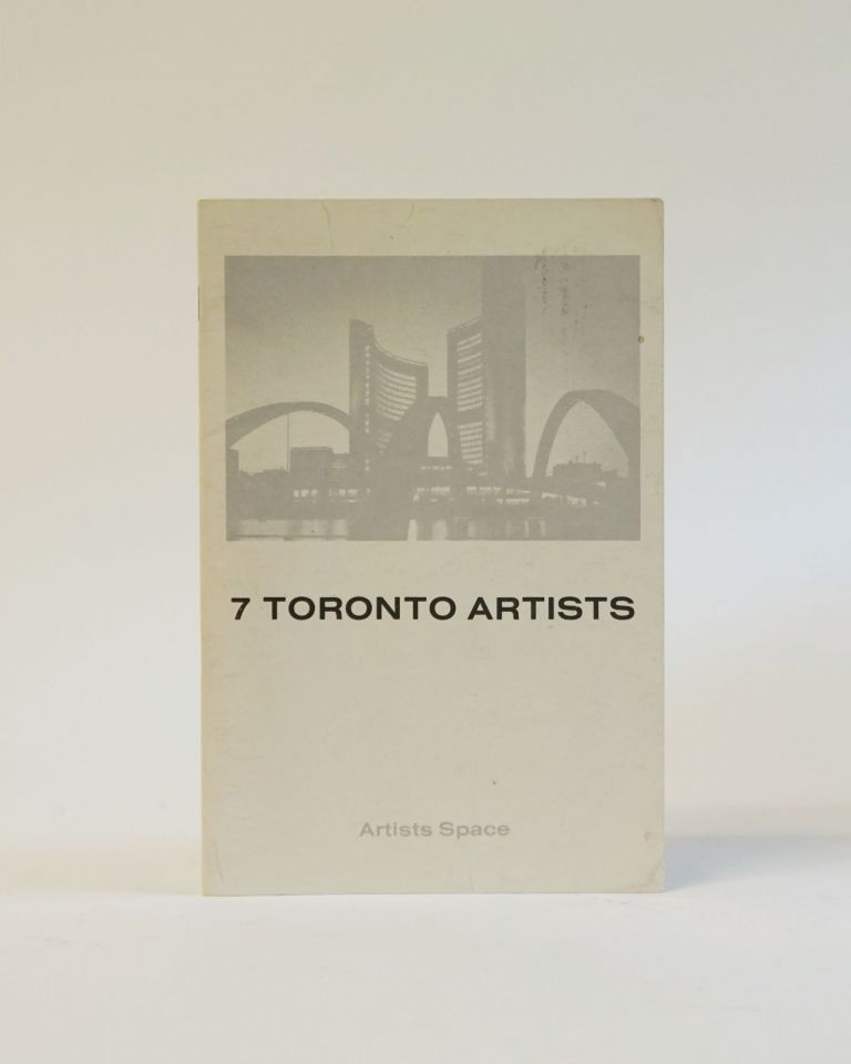 7 Toronto Artists. Ragland Watkins, John Scott.