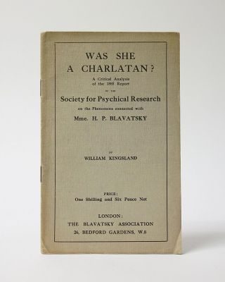 Was She a Charlatan? A Critical Analysis of the 1885 Report of the Society for Physical Research...