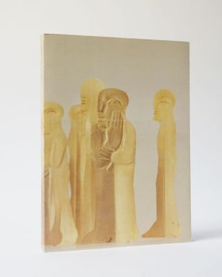Horst Antes: 25 Votive (Inscribed, with additional inscribed postcard). Horst Antes