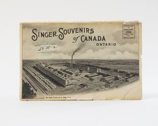 Singer Souvenirs of Canada (Ten Photographs). Singer Sewing Machine Co