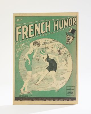 French Humor: All Illustrations by French Artists. Vol. I, No.9, September 10, 1927. Hugo Gernsback