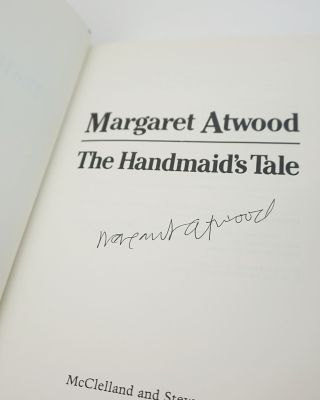 The Handmaid's Tale [WITH] The Testaments. Both Signed