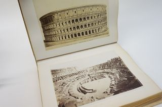 Roma. Ricordo di Roma. Photograph Album of Roman Antiquities