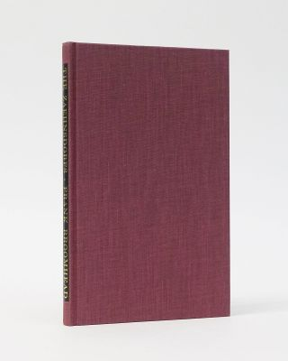 The Zaehnsdorfs (1842-1947): Craft Bookbinders. Frank Broomhead