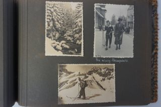 PHOTO ALBUM DOCUMENTING SEVERAL YEARS OF SKI, HIKING AND CAMPING TRIPS IN THE TATRA MOUNTAINS IN SOUTH POLAND (1932-1939) ZAKOPANE / MOUNTAINEERING