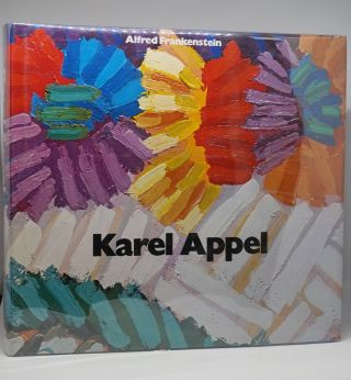 Karel Appel (Signed). Alfred Frankenstein