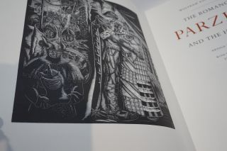 The Romance of Parzival and The Holy Grail, Retold by Carl Lofmark. With wood engravings by Stefan Mrozewski.