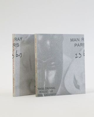 Behind the Photo. The Stamps of Man Ray. 2 Volumes. Steven Manford