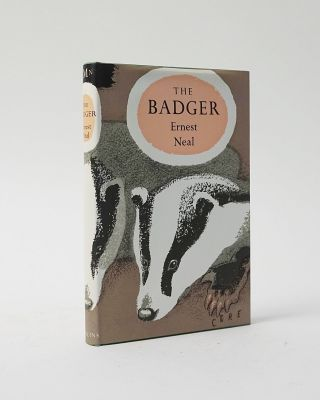 The Badger (New Naturalist Monograph Series). Ernest Neal