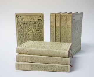 The Novels of the Sisters Bronte In Ten Volumes. Jane Eyre, Shirley, Vilette, Wuthering Heights,...