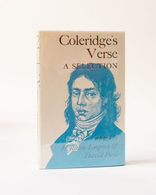 Coleridge's Verse. A Selection. William Empson, David Pirie