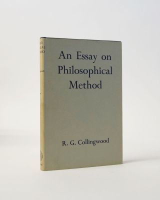 An Essay on Philosophical Method. R. G. Collingwood