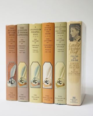 The Letters of Virginia Woolf. 6 Volumes. Virginia Woolf, Nigel Nicolson, ed