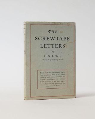 The Screwtape Letters. C. S. Lewis