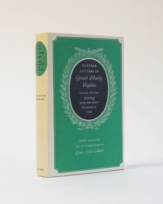 Further Letters of Gerard Manley Hopkins. Second Edition including many new letters discovered in...