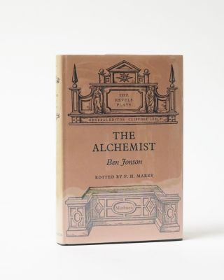 The Alchemist. The Revels Plays. Edited by F. H. Mares. Ben Jonson