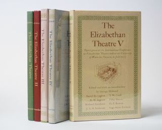 The Elizabethan Theatre (Volumes 1-5). David Galloway, George Hibbard, eds