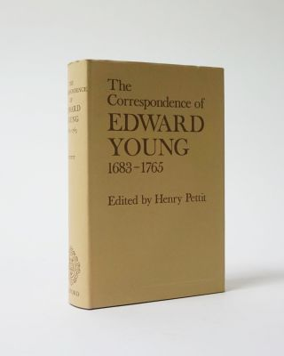 The Correspondence of Edward Young 1683-1765. Henry. ed Pettit