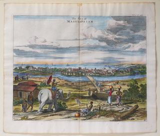 The City of Masulipatam. Print] Taken from Churchill's A Collection of Voyages]. Awnsham...