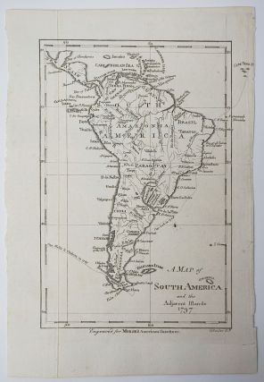 A Map of South America and the Adjacent Islands 1797. Map]. Jedidiah Morse