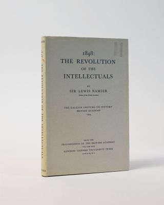 1848: The Revolution of The Intellectuals. Lewis Namier