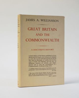 Great Britain and the Common Wealth. James A. Williamson